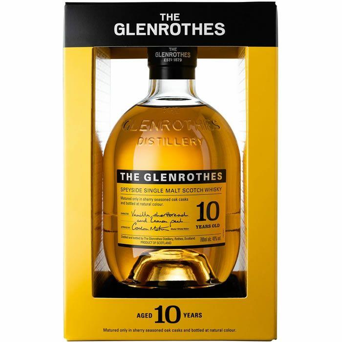 Bouteille de Whisky Single Malt The Glenrothes 10 ans (70 cl) - Sélection de magasins