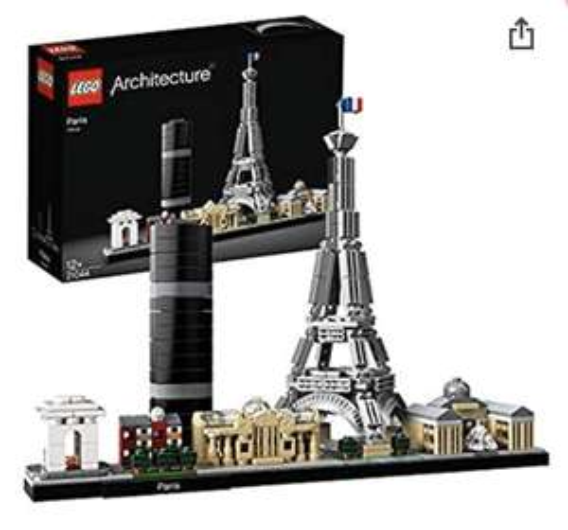 Jeu de construction Lego Architecture Paris n°21044