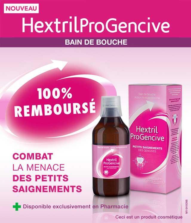 Bain de bouche HextrilProGencive gratuit (via ODR 100%)