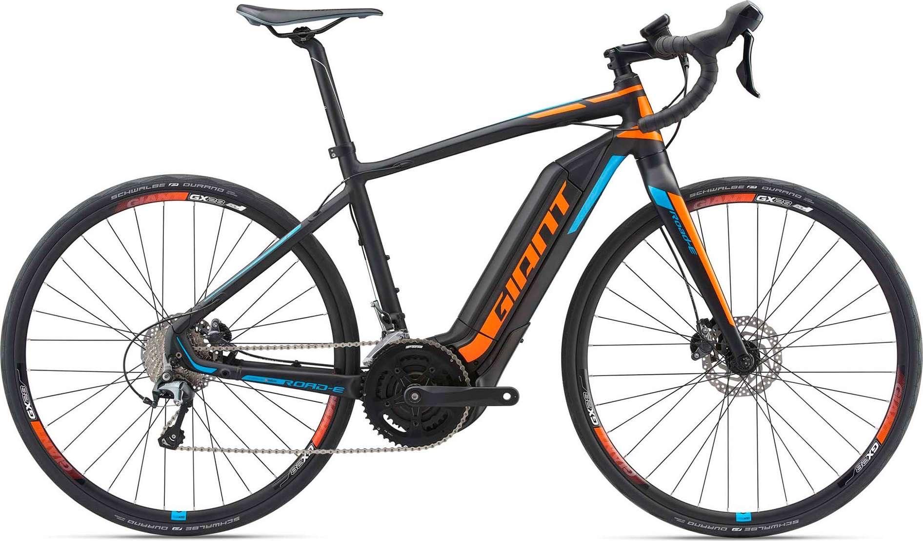 Sélection de vélos route Giant en promotion - Ex : Vélo de route à assistance électrique Giant Road E+3 (giant-bicycles.com)