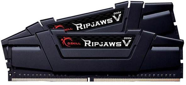Kit Mémoires DDR4 G.Skill Ripjaws V - 16Go (2x8Go), 3200Mhz, PC4-25600