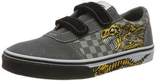 Chaussures Mixte Enfant Vans Ward V - Velcro Suede (taille 38)