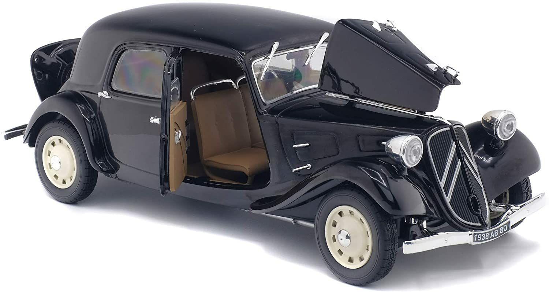 Réplique miniature Solido Citroen Traction 11 Cv (1937) - Echelle 1:18