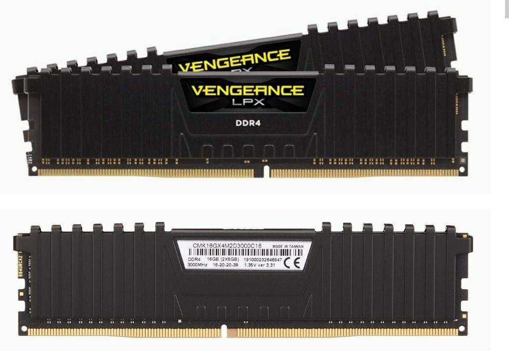 Kit de RAM Corsair Vengeance LPX - 16 Go (2x8), 3000 Mhz, CL16