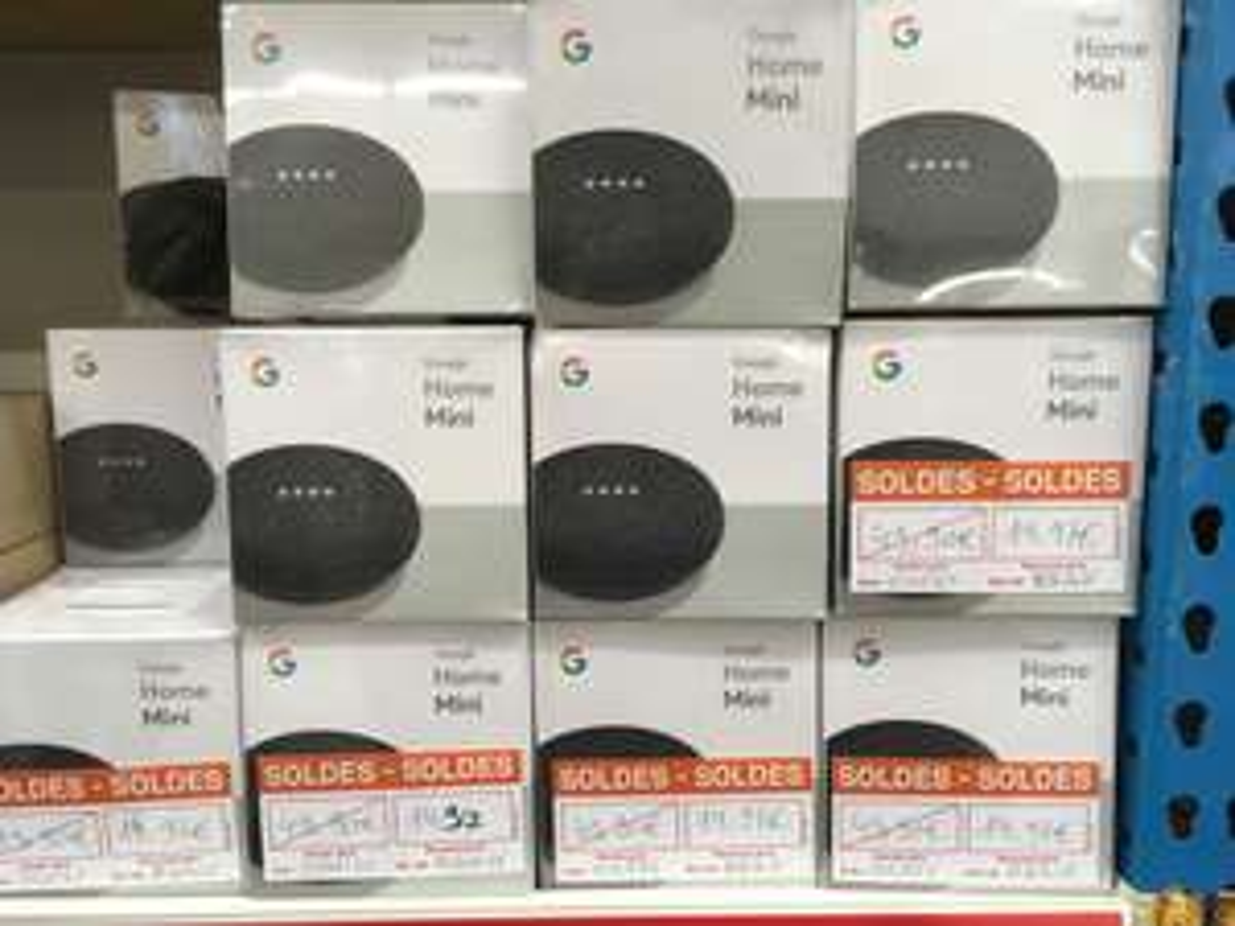 Assistant vocal Google Home Mini (coloris galet ou charbon) - Villeneuve-d'Ascq (59)