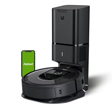 Aspirateur robot iRobot Roomba i7+ (i7558) - avec station de nettoyage