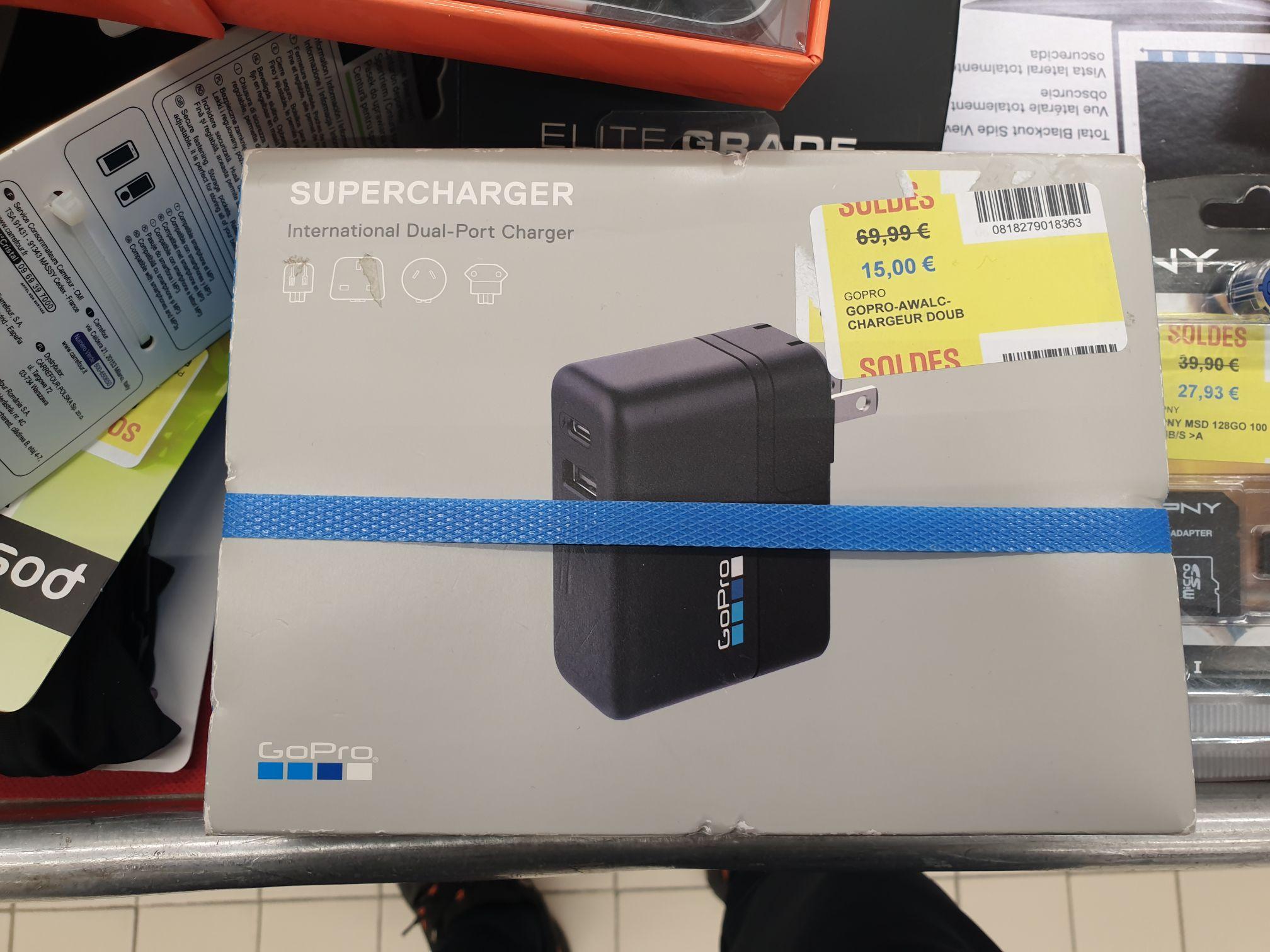 Sélection d'accessoires GoPro en promotion - Ex: GoPro Supercharger Claye Souilly (77)