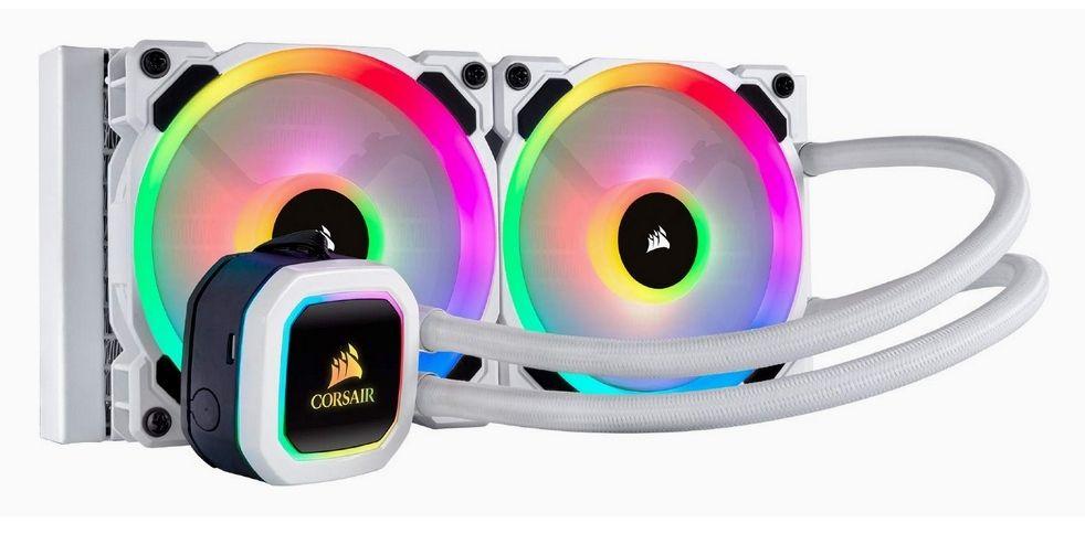 Kit de watercooling Corsair H100i RGB Platinum SE White