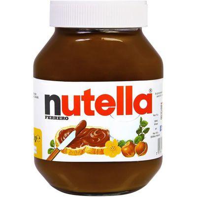 2 Pots de pâte à tartiner noisettes et cacao Nutella - 2x 1Kg