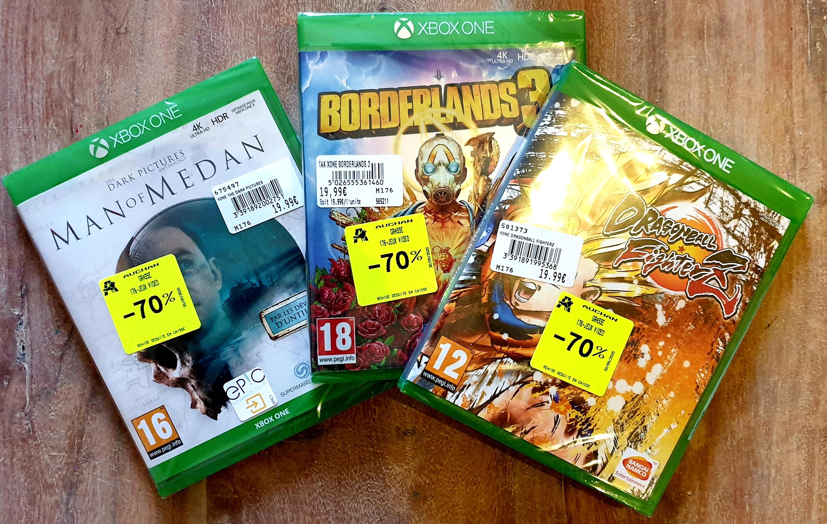 Sélection de jeux Xbox One en promotion (Ex: The Dark Pictures Anthology: Man Of Medan) - Grasse (06)