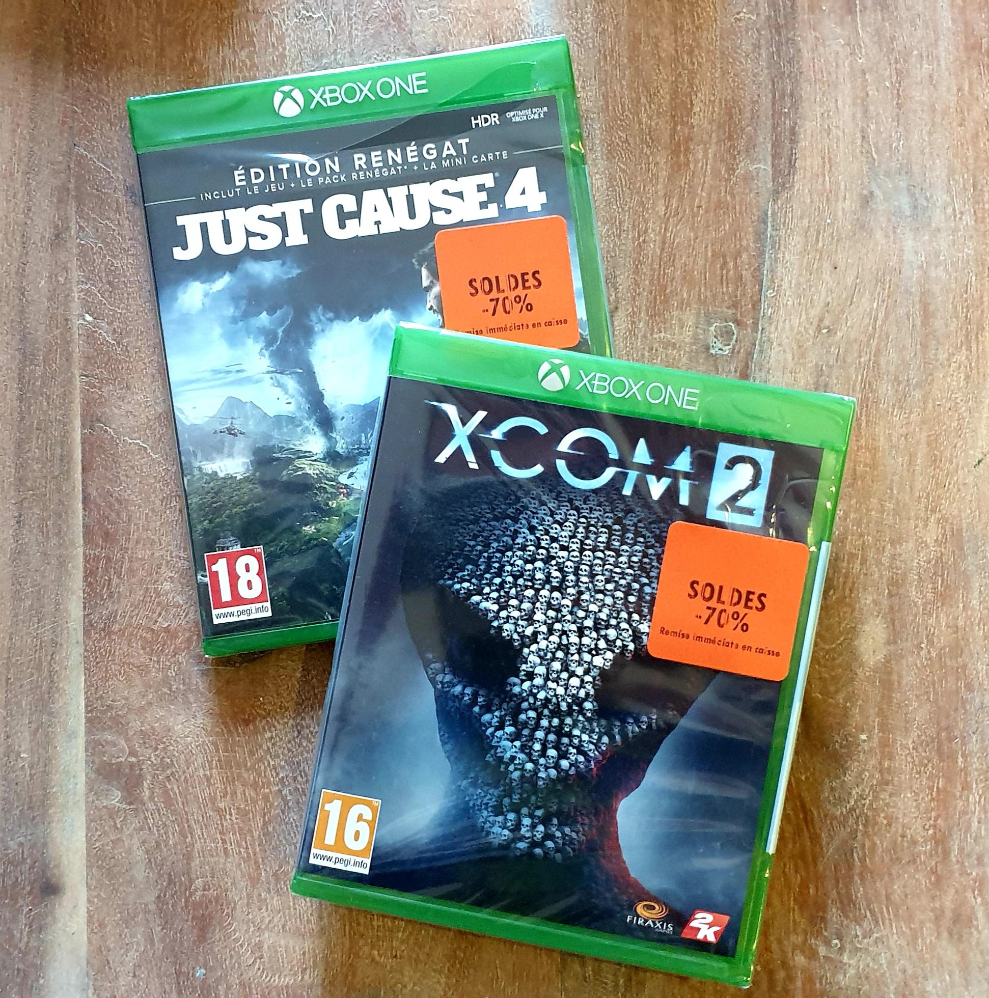 Just Cause 4 - Édition Renégat ou XCOM 2 sur Xbox One