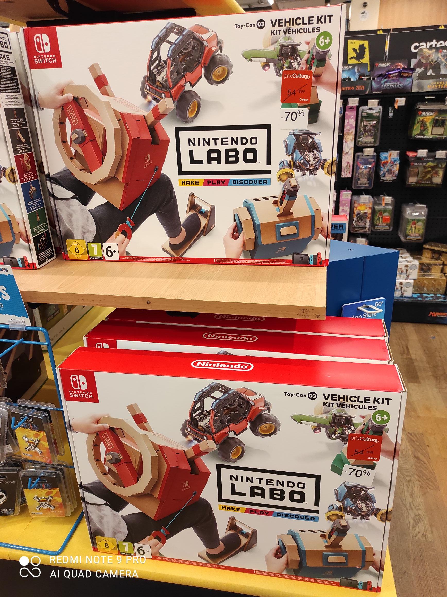 Nintendo Labo véhicule kit - Plaisir (78)