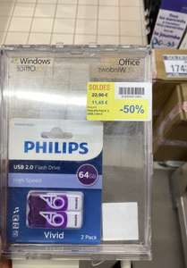 Pack de 2 clés USB Philips Vivid Edition 2.0 (2x64 Go) - Nice (06)