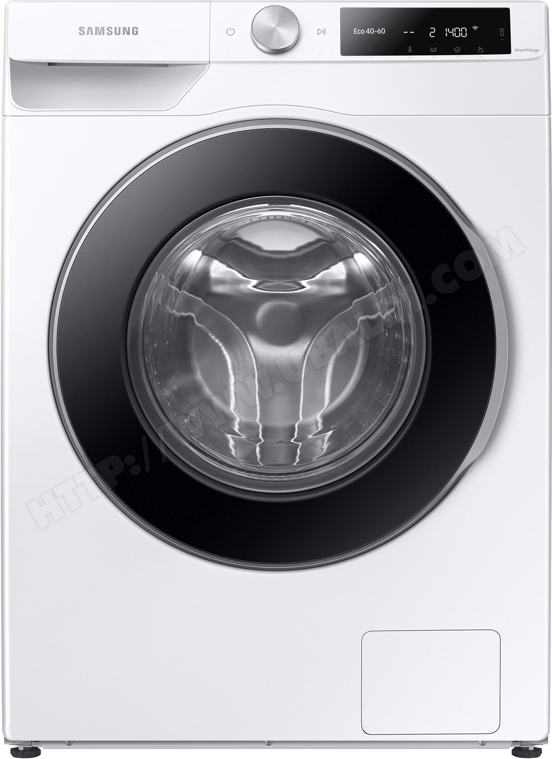 Lave-linge frontal Samsung WW80T634DLES3 - Eco Bubble, 8 kg, 1400 trs/min, A+++ (via ODR de 50€)