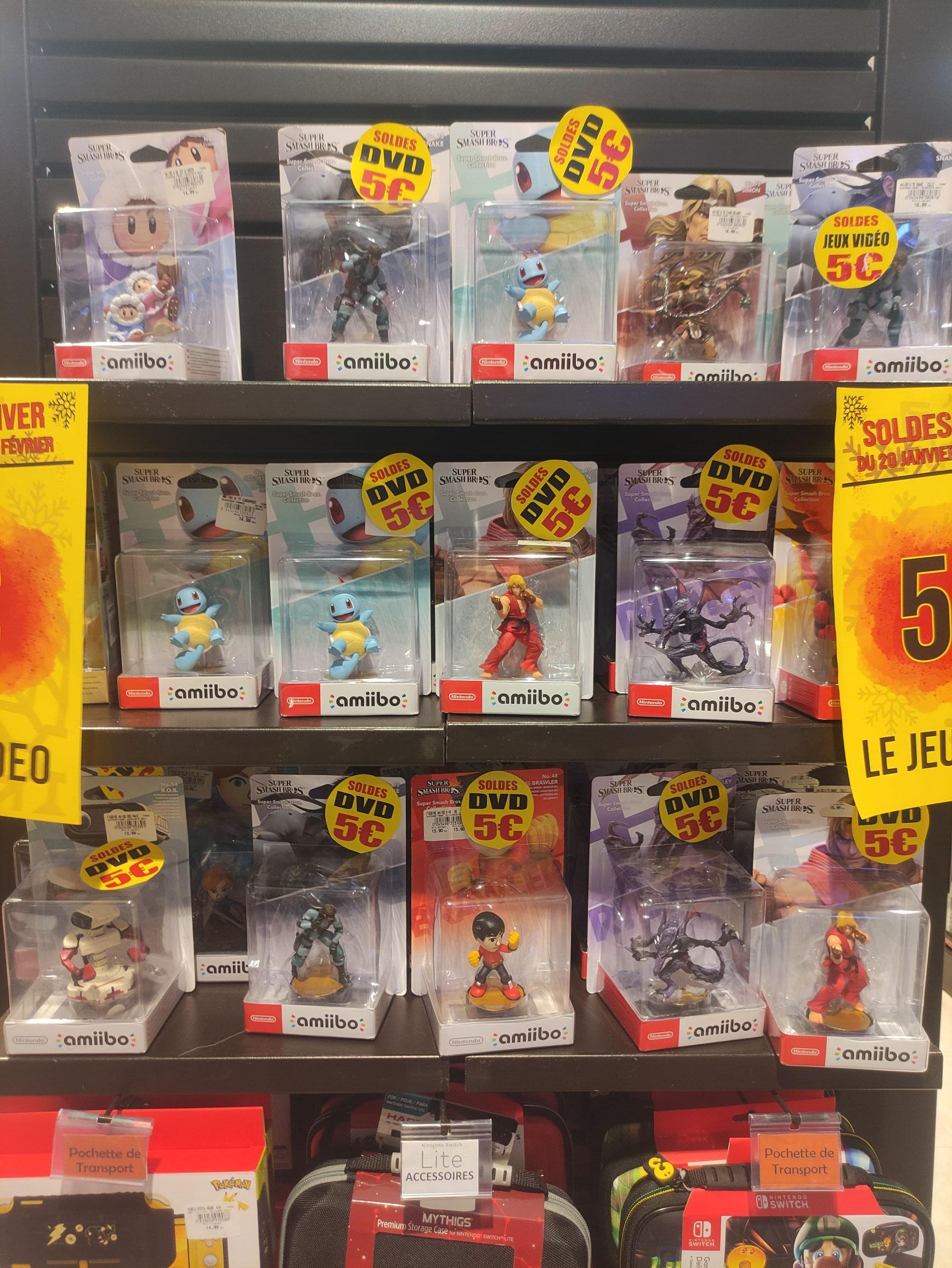Sélection de figurines Amiibo à 5€ - Saint-Louis (68)