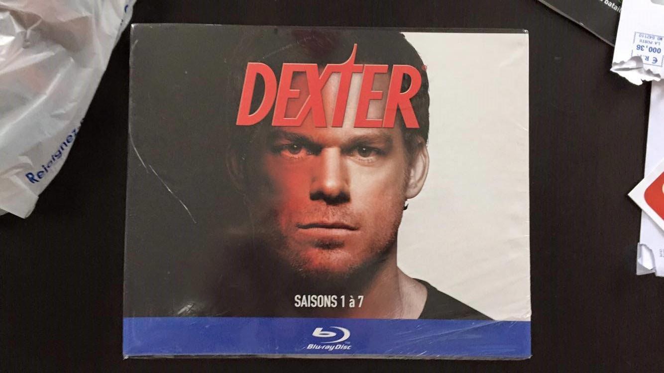 Coffret Blu-ray Dexter  saison 1 à 7