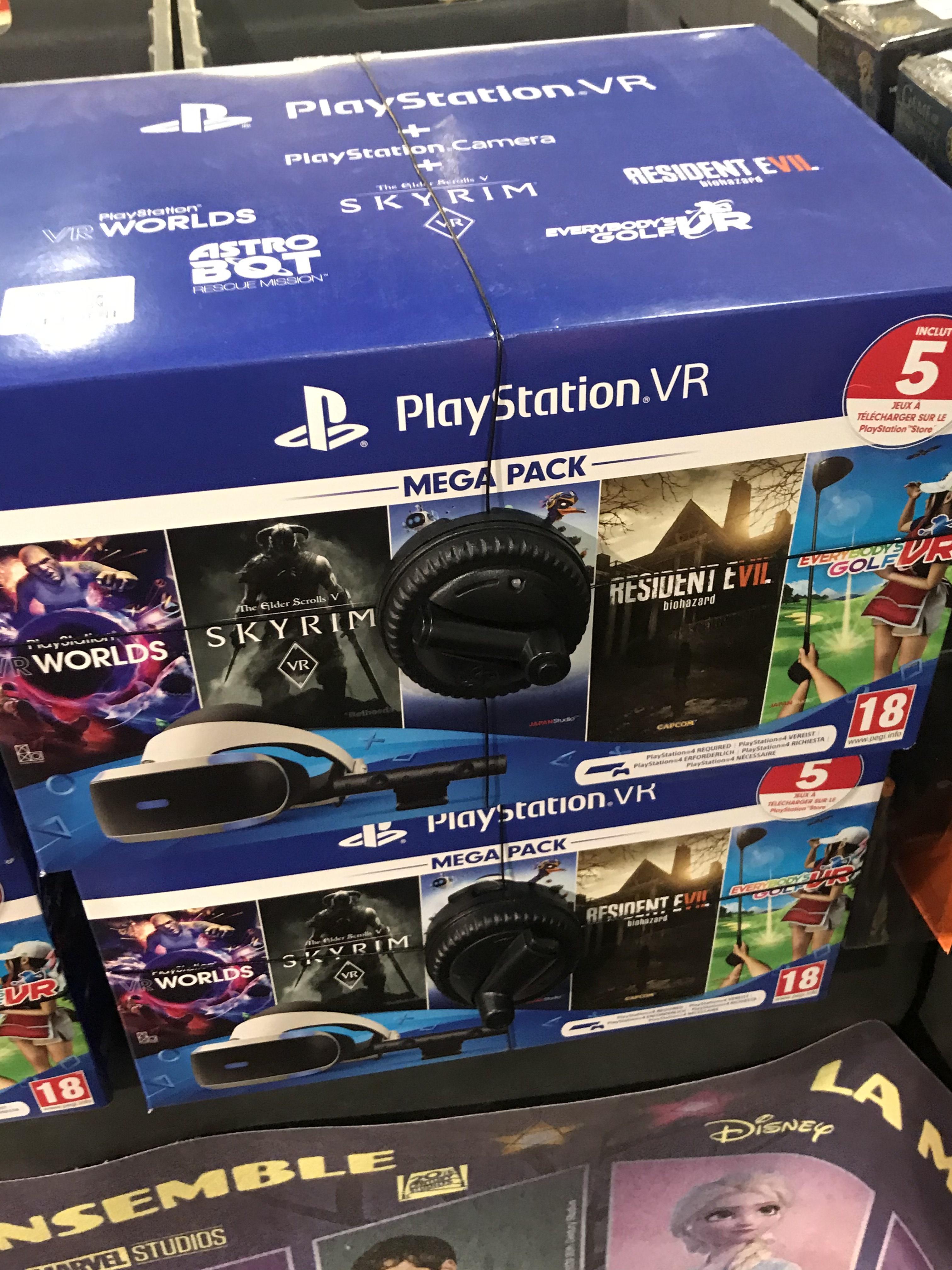 Pack PlayStation VR MK4 V2 : Casque VR + Caméra + 5 Jeux - Andrézieux (42)