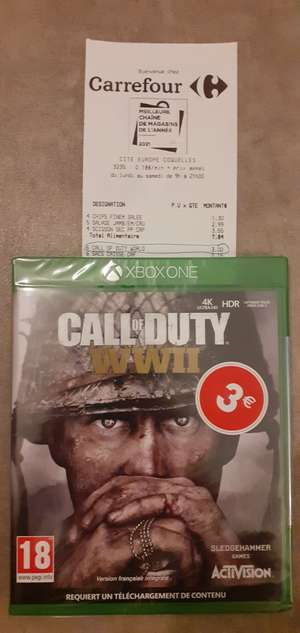 Call of Duty WWII / Black Ops 4 sur Xbox One - Coquelles (62)