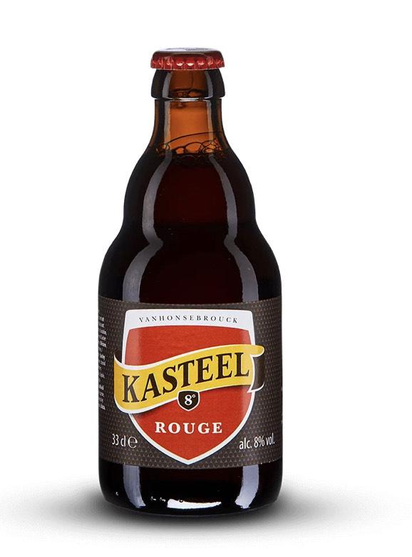 Bouteille de bière Kasteel Rouge - 33cl (vandb.fr)