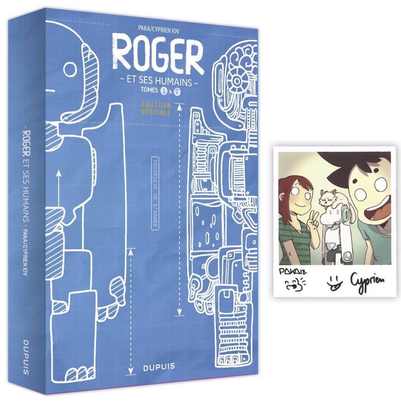 Coffret BD Roger et ses Humains - T1 et T2