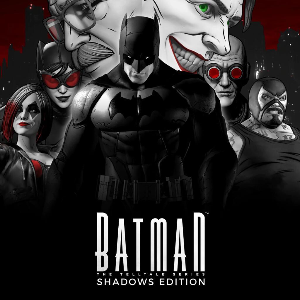 Jeu The Telltale Batman sur PS4 - Shadows Edition (Dématérialisé)