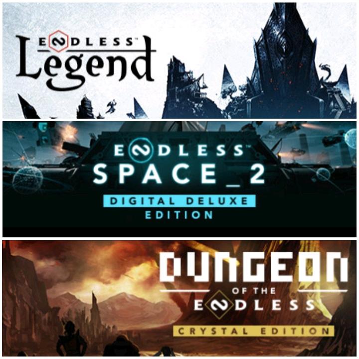 Dungeon of the Endless et Endless Legend & Endless Space 2 - Jouables gratuitement sur PC & Mac (Dématérialisés)