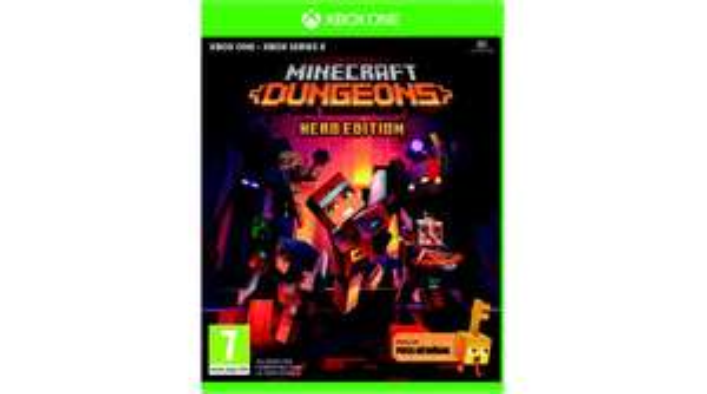 Minecraft dungeons hero edition sur Xbox One