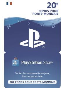 Carte Playstation Store de 20€