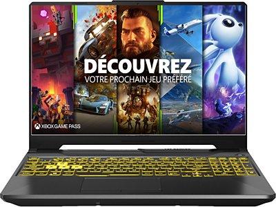"PC Portable 15.6"" Asus A15 TUF566IV HN349T - Full HD 144 Hz, Ryzen 9 4900H, 16 Go RAM, SSD 512 Go, Windows 10"