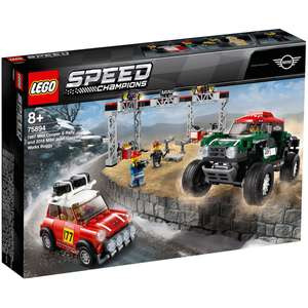 Lego 75894 - Speed Champions Mini Cooper S Rally 1967 et Mini John Cooper Works Buggy 2018