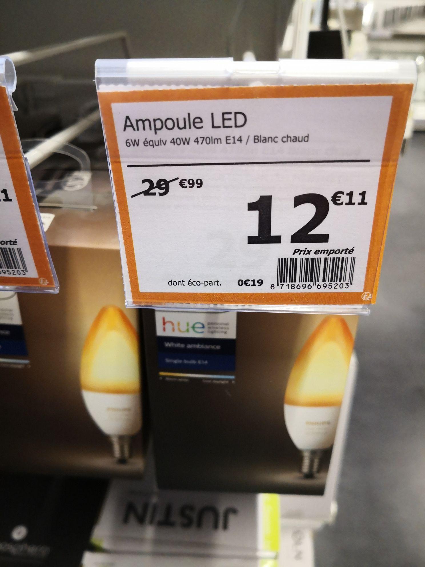 Ampoule LED Philips Hue White Ambiance (E14, GU10) - La Queue-en-Brie (94)