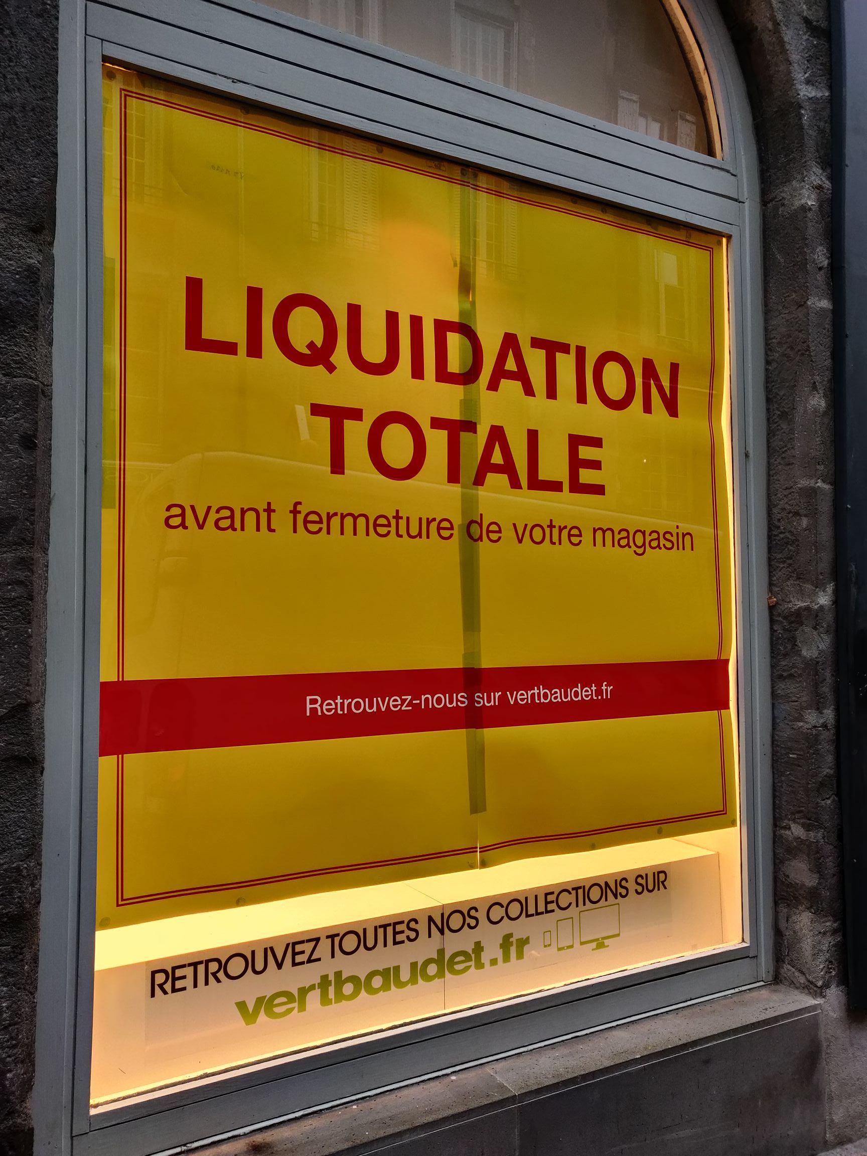 Sélection d'articles en promotion (liquidation avant fermeture définitive) - Clermont-Ferrand (63)