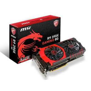Carte graphique MSI AMD Radeon R9 390X Gaming 8 Go + Hitman