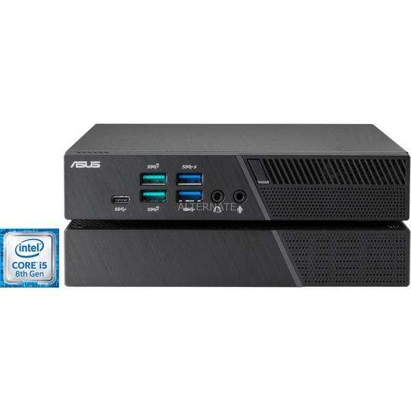 Mini PC Asus PB60G-B5098ZD - i5-8400T, 16 Go RAM DDR4L, 256Go SSD, Windows 10 Pro - Noir