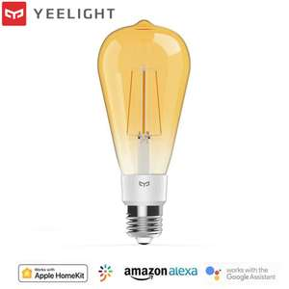 Lot de 4 Ampoules Yeelight Smart LED Filament Bulb ST64