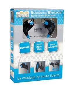 Écouteurs sans-fil My Music Style - Bluetooth, rose.- Claye-Souilly (77)