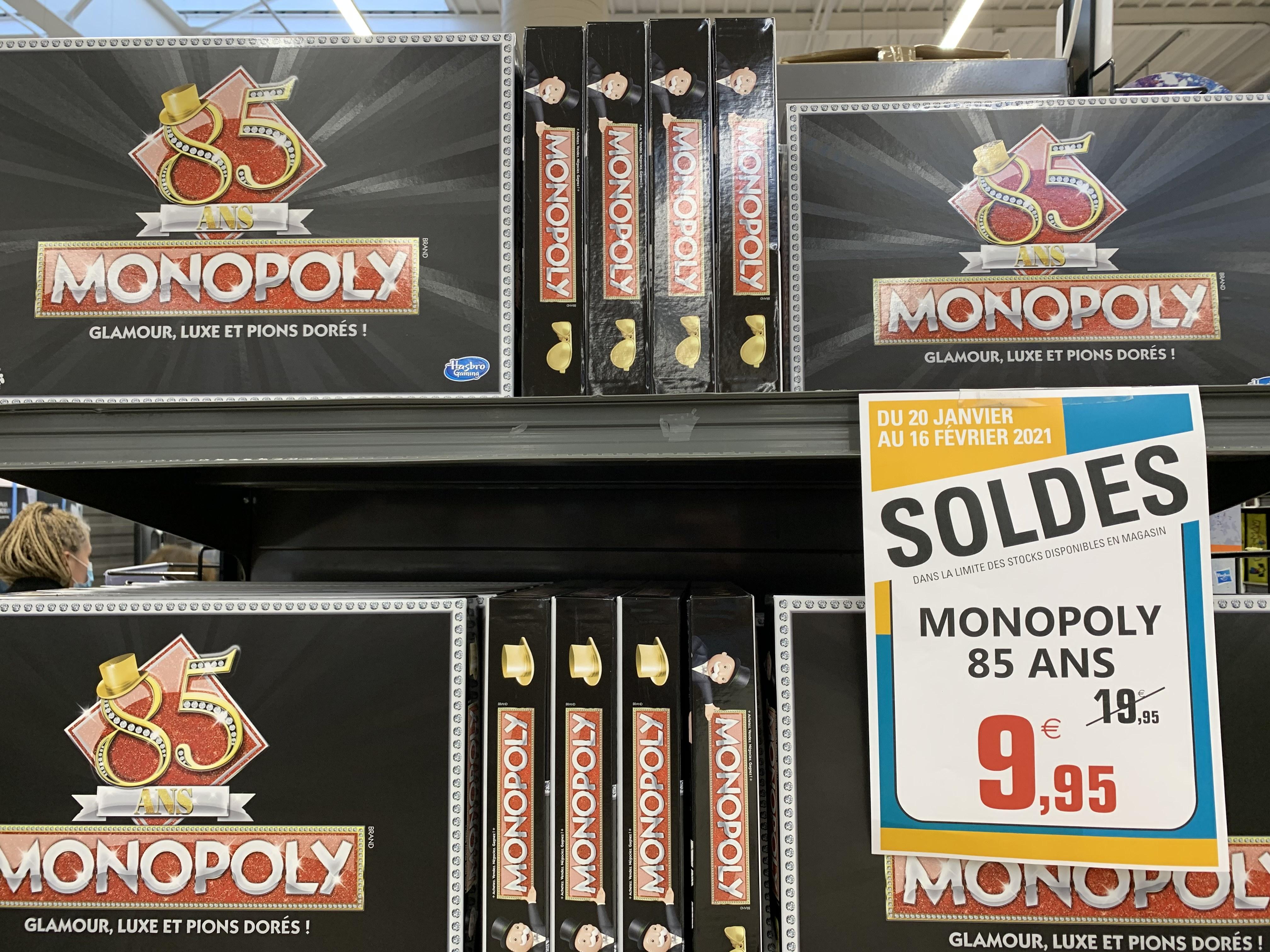 Jeux de société Monopoly Edition 85 Ans - Fosses-la chapelle (95)