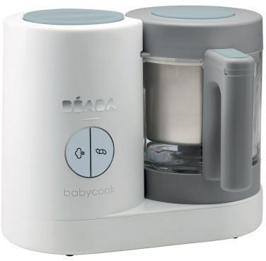 Robot cuiseur bébé Beaba Babycook Neo - blanc/gris