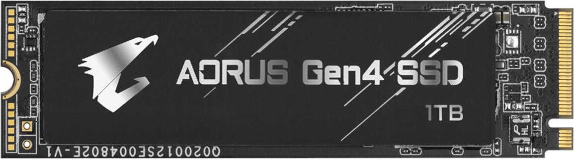SSD interne M.2 GigaByte Aorus Gen4 - 1 To