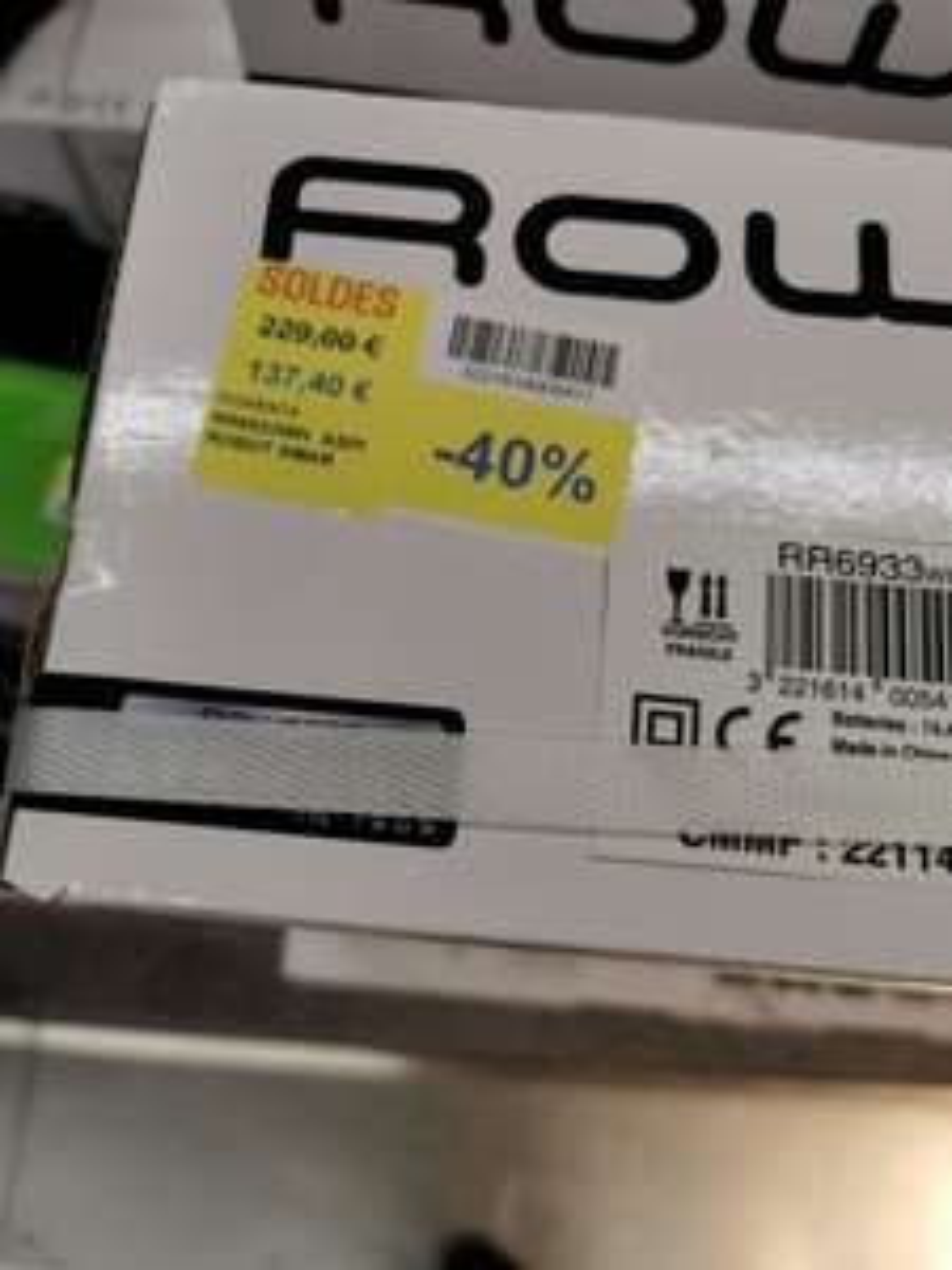 Aspirateur robot Rowenta Smart Force Essential (RR6933) - Rosny-sous-Bois (93)