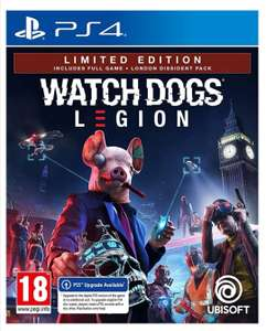 Watch Dogs: Legion Limited Edition sur PS4 (version PS5 incluse), Xbox One, Xbox Series X