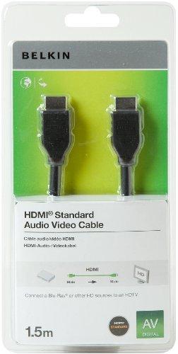 Câble HDMI 1.4 Belkin F3Y017CP - 1.5 m