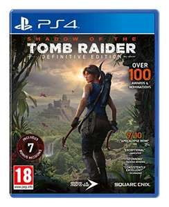 Shadow of the Tomb Raider - Definitive Edition sur PS4 (Vendeur tiers)