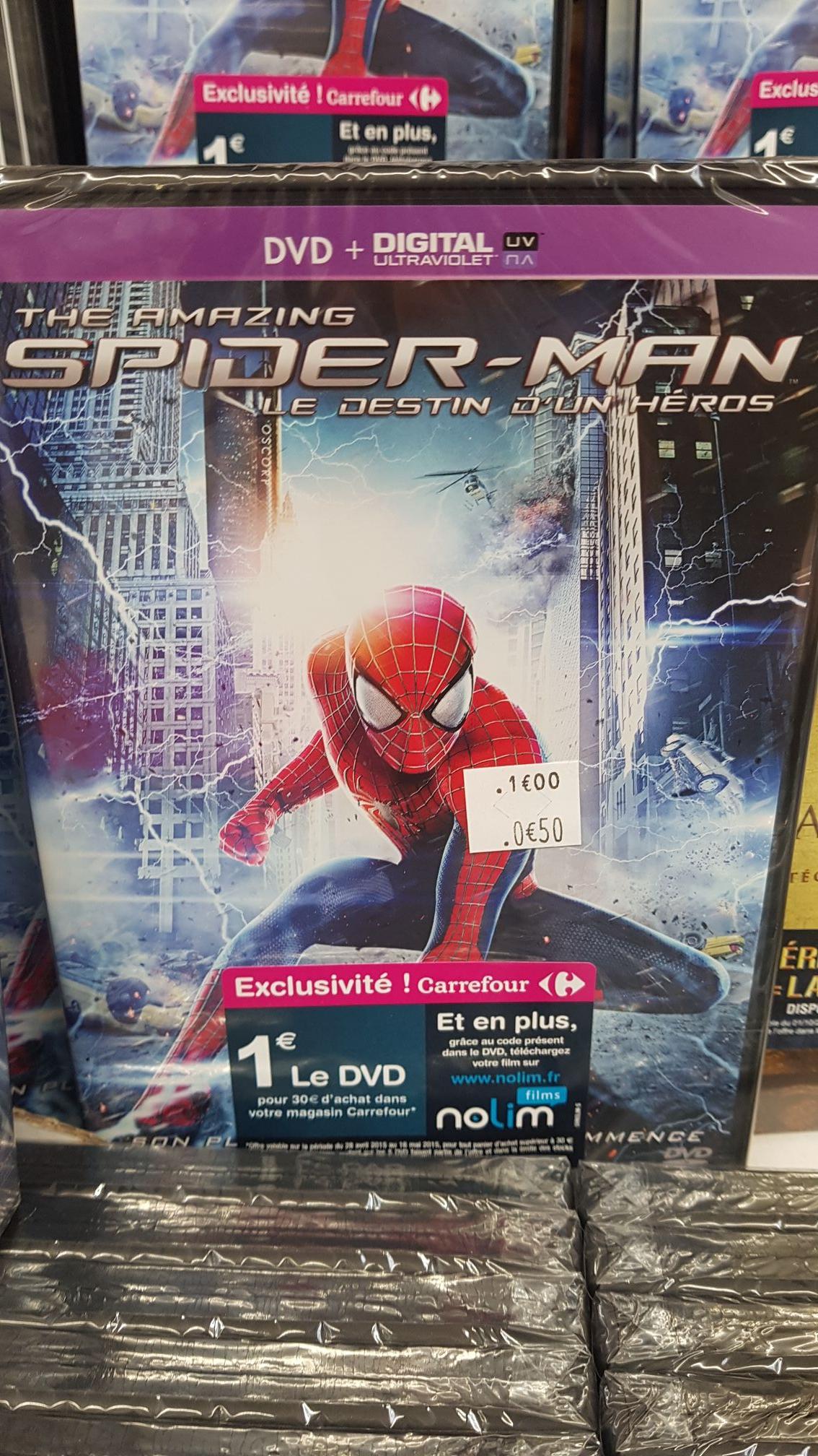 DVD The Amazing Spider-Man : le destin d'un Héros - Gennevilliers (92)