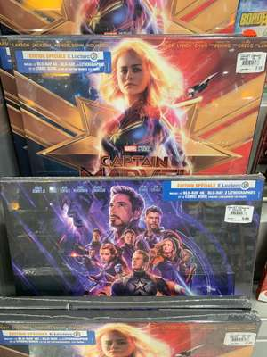 Avengers Endgame Édition spéciale Blu-Ray + Blu-Ray 4K + 2 Lithographies et Comic Book - Clermont-Ferrand (63)