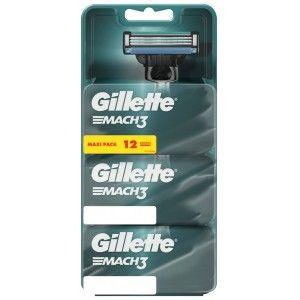 Lot de 12 Lames Gillette Mach 3 (via 24.5€ sur la carte)
