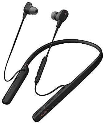 Écouteurs intra-auriculaires sans fil avec réduction de bruit Sony WI-1000XM2 - Noir