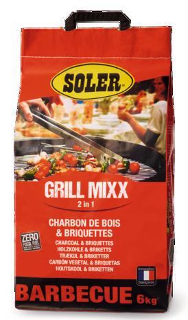 Sac de charbon de bois Soler (6 kg)- Toulon (83)