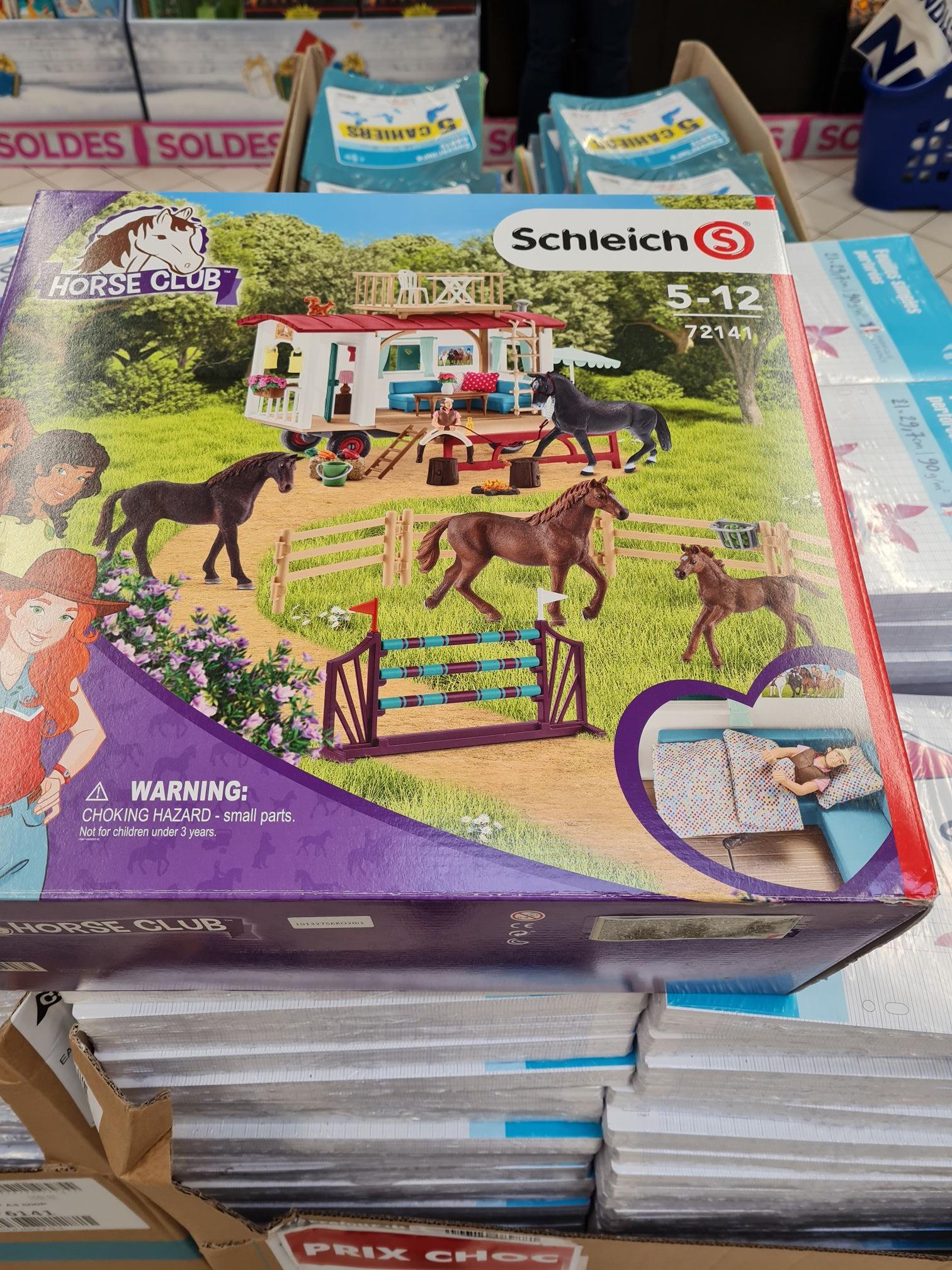 Jouet Schleich horse club 72141 - Carrefour Drancy (93)