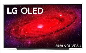 "TV 77"" LG OLED77CX 2020 - OLED, 4K UHD, 100Hz, Dolby Atmos/Vision + Ecouteurs LG FN6"